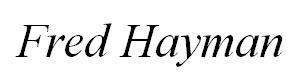 Fred Hayman Logo