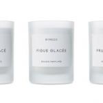 Byredo Subzero Collection Candles: the Glacé Trio