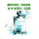Editors' Choice Awards 2015: Προβάλλοντας  τις Κριτικές των μελών της Fragrantica